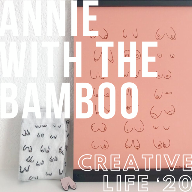 Annie with the Bamboo